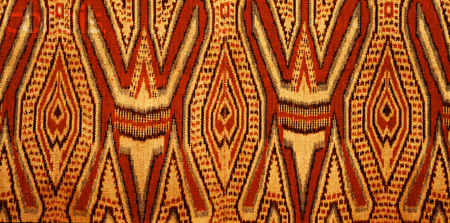 Detail of Ikat Weaving from Malaysia
