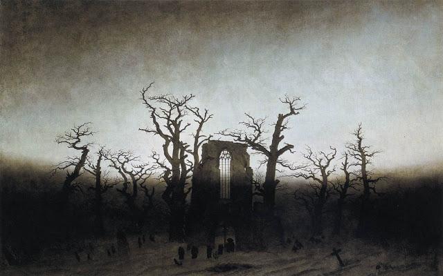 FRIEDRICH-Caspar-David-The-Abbey-in-the-Oakwood