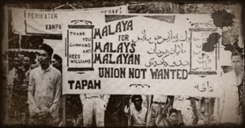 malayan_union_protest